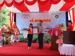 Hòa Bình Organic đạt chứng nhận tiêu chuẩn hữu cơ